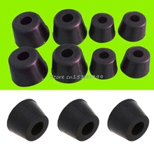 20 Pcs Rubber Instrument Case Non-slip Cabinet Box Foot Bumpers Feet 17x10x14mm #G205M# Best Quality