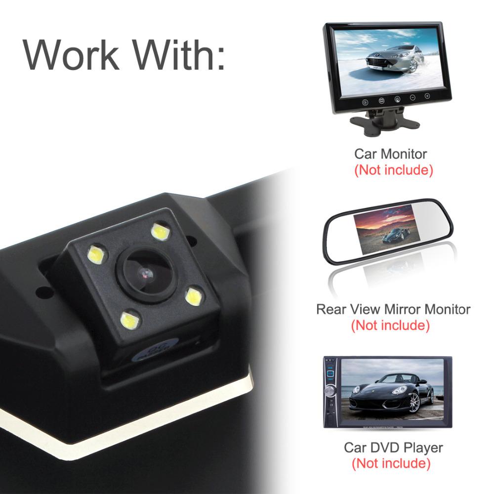 Großhandel Rückansicht Auto Parktronic Eu Auto Nummernschild Rahmen ...