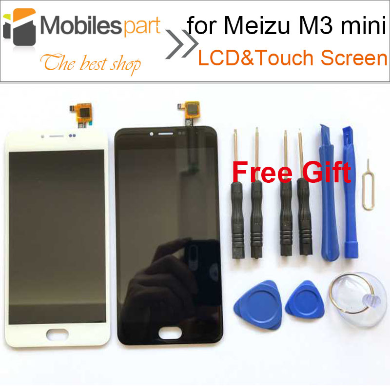 LCD Screen for Meizu M3 mini 5.0inch 100% New Replacement Accessories LCD Display+Touch Screen for Meizu M3 mini Smartphone<br><br>Aliexpress