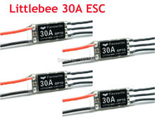 4Pcs Littlebee 30A Mini ESC OPTO 2-6S Lipo Battery Little bee For RC Multicopter Quadcopter Drones kit