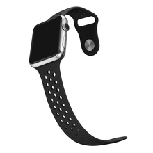 Silicone Sport Band For Apple Watch Bands Soft Rubber Wrist Strap Bracelet For Apple Watch Series1 Series2