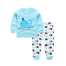 1set hot fashion Long Sleeve Baby boy/Girl Clothing suits Children Clothing Set Newborn Baby Clothes Cotton Baby set szie6M9M24M