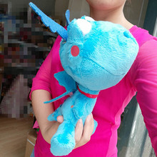 1pcs 30CM Original Stuffy Doc Mcstuffins Toys Stuffy Blue Dragon Stuffed Animals Doll for Kids Children Gift