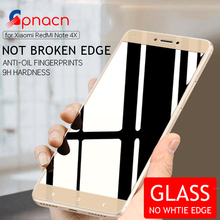Full Cover Tempered Glass For Xiaomi Redmi 4X 4 Pro 4A 4 Prime For Redmi Note 4 Pro Note 4X Screen Protector Toughened Film(China)