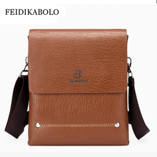 FEIDIKABOLO New Brand Specials Messenger Bag Man Casual carry bag Design PU leather handbag POLO shoulder bag Crossbody Bags