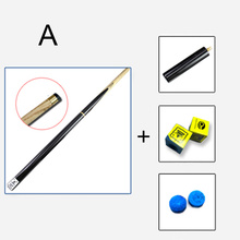 High Quality 3/4 Snooker Cues 9.8mm Tip With Snooker Cue Case Set 3 Options Professional Level China