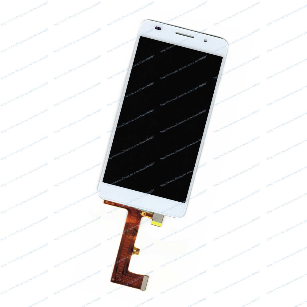 New OEM White Replace Touch Screen with Digitizer+LCD Display Assembly For Huawei Honor 6 H60-L01 H60-L02 Phone<br><br>Aliexpress
