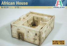 ITALERI African House 6139 1:72 Accessories Model Kit