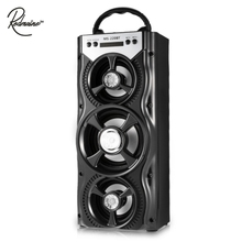 Redmaine MS - 220BT Portable Bluetooth Speaker FM Radio AUX with Huge Stereo Sound With 4-inch Hi-Fi Speaker Colorful LED light