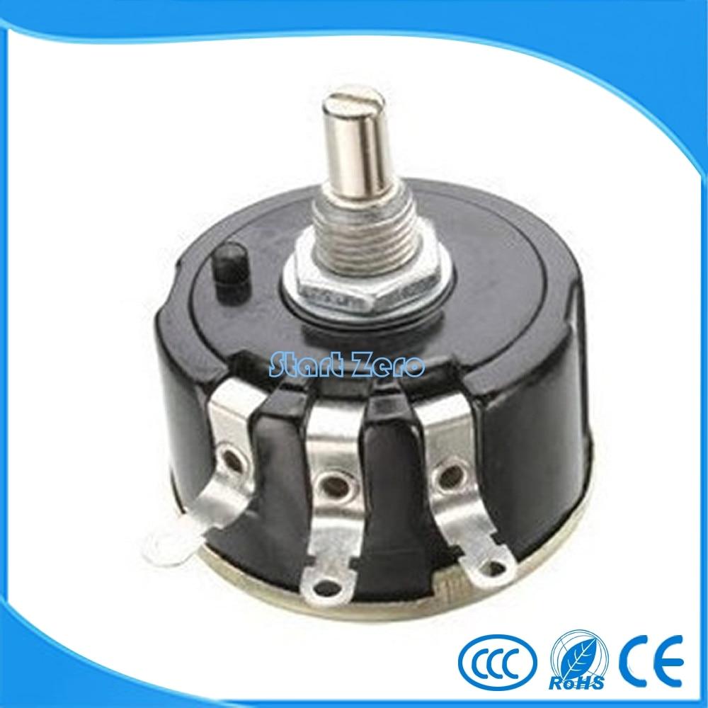 2 pcs 5W Wirewound Potentiometers 1K OHMs Volume Control Pots 5 Watts WX112