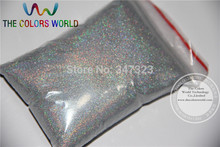 TCA100 0.05mm 002 Laser Silver Color Glitter Powder for nail,tattoo art decoration Free ship Wholesale DIY dust(China)