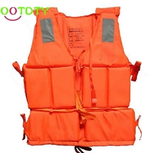 Adult Foam Flotation Swimming Life Jacket Vest With Whistle