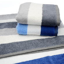 Free shipping vosges 100% yarn dyed cotton towel fashion stripe 100% washouts cotton brief lovers design towel