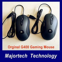 New Genuine G400 Optical Gaming mouse wired professional player brand gaming mouse without retailed box