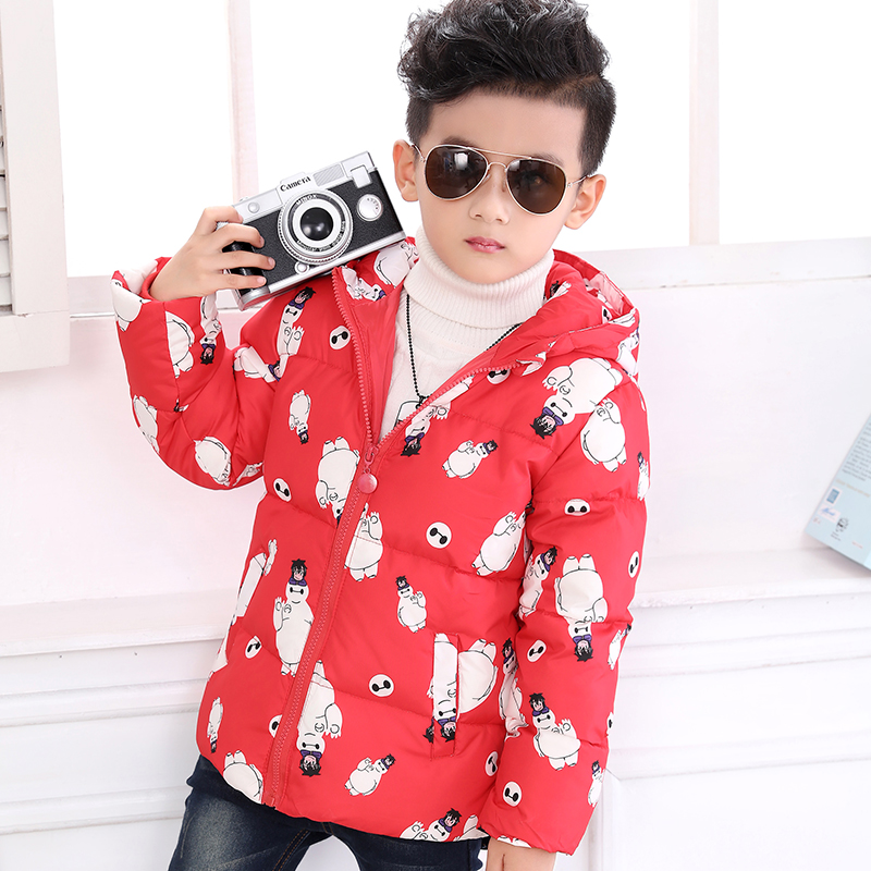2017 Newest Kids Boys Down Coat With Hooded Winter Jackets For Boys 90% Goose Down Warm Children Down Jackets ParkaОдежда и ак�е��уары<br><br><br>Aliexpress