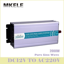 MKP2000-122R High Efficiency Dc-Ac Pure Sine Wave Power Inverter 12v 220v 2000w For Household Solar Voltage Converters China(China)