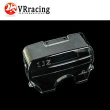 VR RACING - clear pulley cover / timing belt cover / cam cover for TOYOTA SUPRA 1JZ NEW racing VR6336
