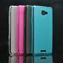 TPU Pudding Cases For Alcatel Flash Plus 2 Mobile Phone Case Silicone Cover 4 Colors available