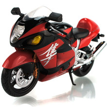 1:12 Scale Model Motorcycle Toy GSX 1300R ABS & Diecast Metal Motorbike Models Miniature Motor Car Toy Boys Vehicle Collection(China)