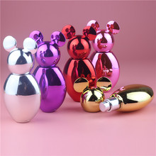 Miki Spray Perfume Bottle 30ML , Colorful 30ml Glass Perfume Bottle Supplier,30ml Art Glass Perfume Bottle with Sprayer