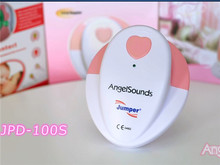 New Package Jumper angelsounds Fetal Doppler Prenatal Heart Monitor Baby Heart Beat 3.0 Mhz Probe Baby Sound 100S for pregnancy(China)