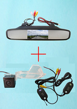 Wireless Color CCD Car Chip Rear View Camera for Ford Edge Escape Mercury Mariner + 4.3 Inch rearview Mirror Monitor