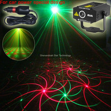 Car used plug R&G moving whirlwind laser Projector 2 patterns Gobo Light field outdoor garden hillside Park Party Light Show CR2(China)