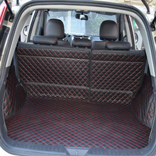 whole car trunk mats for GLEAGLE GX7 surrounded by warehouses full XPE leather folded the boot mat