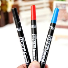 Genvana 10pcs/lot Whiteboard Marker 1mm extra fine non-toxic children marker pen oil ink school and office pens