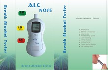 Professional LCD Alcohol Tester Digital Alcohol Detector Breathalyzer Police Alcohol Tester