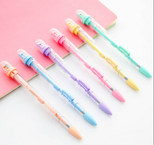 4pcs/lot  Funny Cartoon Shape Mechanical pencil With Sharpener For School Kids Stationery Supplies(tt-4699)