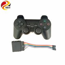 DOIT Robot dedicated Wireless remote control/ supporting 32 channel Servo controller/ps2 handle/ remote/3 wire with 3 pin RC Toy(China)