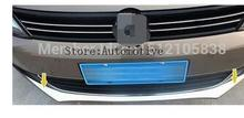 Racing grille Bumper scuff trim products for 2012 2013 2014 for Volkswagen vw Jetta MK6 Accessories