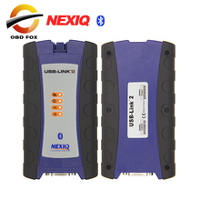 NEXIQ-2 USB Link Bluetooth nexiq 2 V9.5 Software Diesel Truck Interface and Software with All Installers NEW INTERFACE DHL free