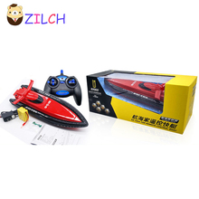 Range 60M Speed 15KM/H 2.4G Radio Remote Control Cruise Model RC Racing Speedboats Water Boat Electric Motorboat Toy(China)