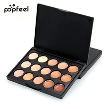 15 Colors Beauty Face Makeup Concealer Palette Contour kit Cream Waterproof Long Lasting Flawless Concealer Cream Cosmetics(China)