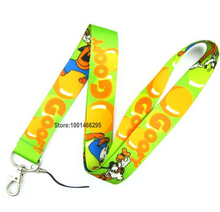 1 Pcs /Wholesale lot Goofy Necklace Strap Lanyards Cell Phone PDA Key ID Strap Charms L-1(China)