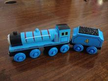 Thomas and His Friends -2PCS Gordon and His tender Magnetic Wooden Trains Model Great Kids Toys Gifts for Children