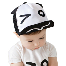 Baby Hat for Kids Boy Girl Baseball Cap Eyes Ears Style Infant Children Mesh Hats Adjustable Snapback Toddler 5 to 18 Months(China)