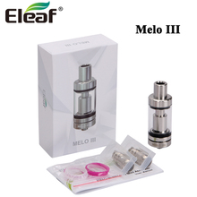 Eleaf melo III 4ML/ Mini 2ML Top-Filled MElo 3 Atomizer Airflow Control Tank For E-Cigarettes iStick Pico/ Pico Mega Box MOD(China)