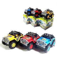 The Jeep Wrangler Off-road Classic Vehicle Model Military Assault Team Figures Building Blocks Bricks Boy's Educational Toy -wd(China)