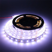 7020 LED strip flexible DC12V safe led tape lighting Not waterproof 5M/roll 300 leds Warm white/white free shipping