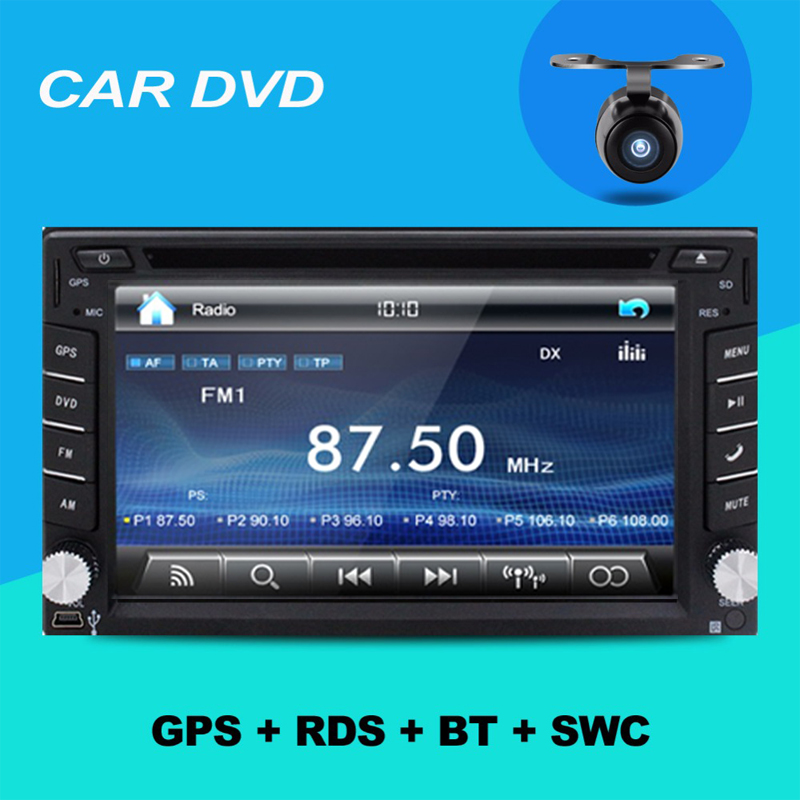 Auto Electronics Car Radio Double 2 din Car DVD Player GPS In dash Car PC Stereo Head Unit video+Free Map+Free Camera USB For VW(China)