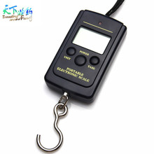 Promotion!! Portable Digital Handy Scales Luggage Fishing 40kg 88LB Fish Partner Box Carp Fishing Lure Tackle Alicate De Pesca(China)