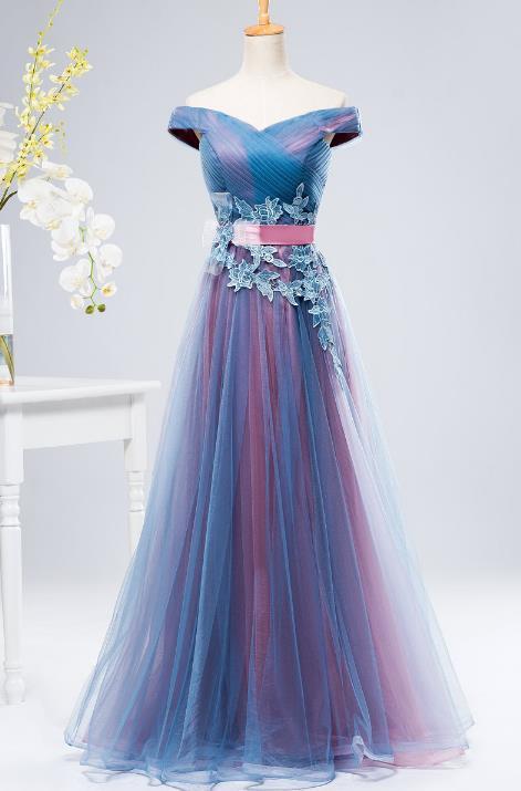 VENSANAC New A Line 2018 Embroidery V Neck Long Evening Dresses Short Cap Sleeve Elegant Draped Sash Party Prom Gowns 2
