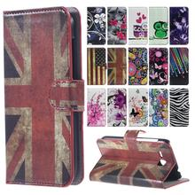 Black UK Logo Leather Cover for Samsung Galaxy S6 edge G9250 Case Flip Wallet Card holder Capa for GalaxyS6 edge Phone Accessory