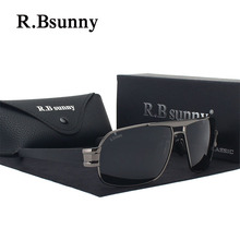 HD Brand Design Sunglasses Men Polarized UV400 Eyes Protect Sun Glasses(China)