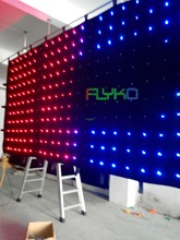 new product flexible led curtain backdrop on china market