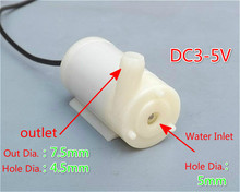 1pcs AIYIMA Mute Submersible Pump Water Pump DC 3V 5V For PC Cooling Water Circulation DIY