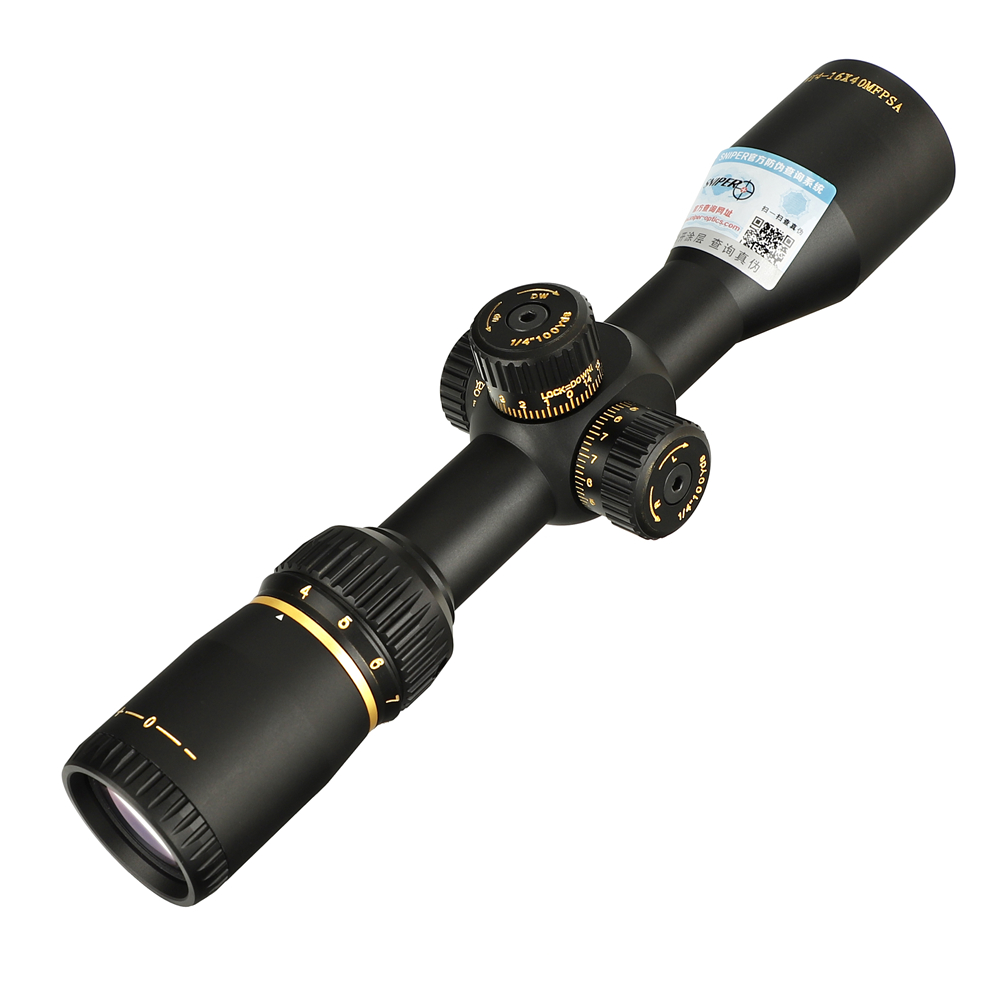 SNIPER VT 4-16X40 MFPSA First Focal Plane Hunting Rifle Scope Side AO Glass Etched Reticle Tactical Optical Sight Riflescopes (13)